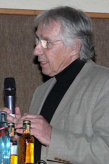 Eberhard Haf von der Tuninger Aktionsgemeinschaft AGG-Tuningen