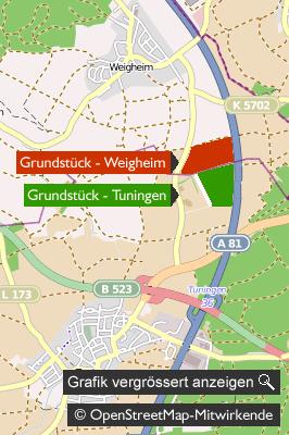 Gefängnis - Karte: Tuningen-Weigheim